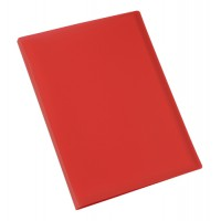 Image for 5 Star Display Book Soft Cover Lightweight Polypropylene 20 Pockets A4 Red