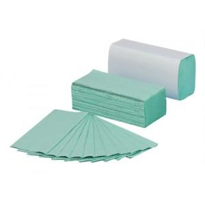 5 Star C Fold Paper Towels 144 Towels Per Sleeve Sheet Size 230x305mm Green [Pack 20]