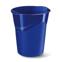 Image for 5 Star Bin Polypropylene 16 Litres W300xD363xH323mm Cobalt Blue