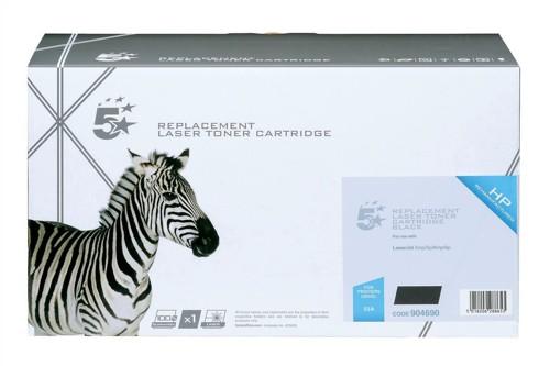 5 Star Compatible Laser Toner Cartridge Page Life 4000pp Black [HP No. 03A C3903A Alternative]