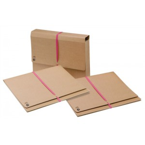 5 Star Legal Wallet with 914mm Tie Tape Gusset 76mm Foolscap 337x257mm [Pack 25]