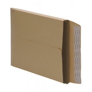 5 Star Envelopes Peel and Seal Gusset 25mm 115gsm Manilla C4 [Pack 125]