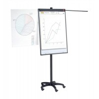 Image for 5 Star Mobile Executive Easel Magnetic Mobile on 5 Castors for Pads A1 and Euro Ref 8102471