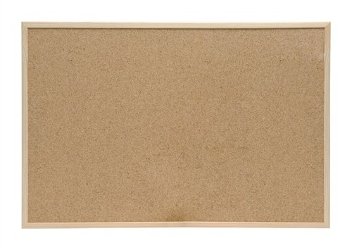 5 Star Noticeboard Cork with Pine Frame W600xH400mm