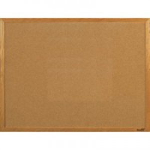 5 Star Noticeboard Cork with Pine Frame W900xH600mm