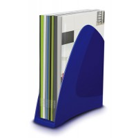 Image for 5 Star Office Magazine File Blue