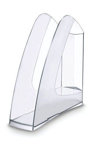 5 Star Magazine Rack File Low Sill A4 Plus and Portrait Foolscap Crystal