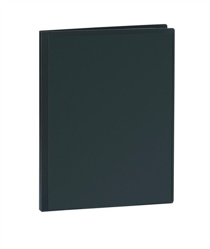 5 Star Display Book Rigid Cover Personalisable Polypropylene 40 Pockets A4 Black