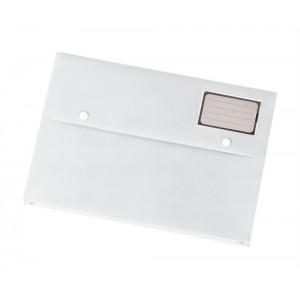 5 Star Document Wallet Polypropylene A4 White [Pack 3]