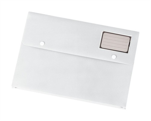 5 Star Document Wallet Polypropylene A4 White [Pack 3]