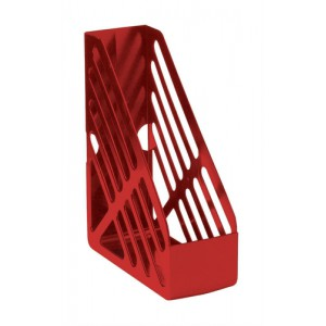 5 Star Magazine Rack File Foolscap Red