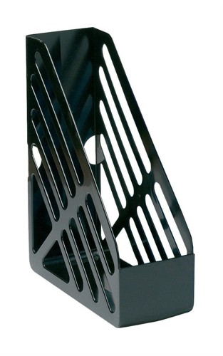 5 Star Magazine Rack File Foolscap Black