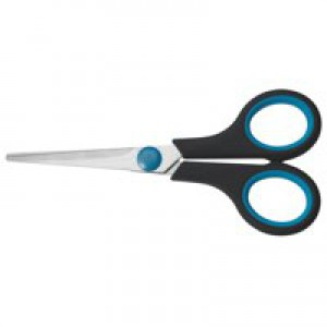 5 Star Scissors with Rubber Handles 160mm Ref 909280