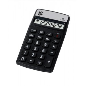 5 Star Calculator Handheld 8 Digit 3 Key Memory Battery-power W56xD8xH100mm