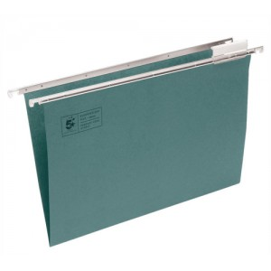5 Star Suspension File Manilla Heavyweight with Tabs and Inserts A4 Green Ref 100331403 [Pack 50]