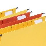 5 Star Tabs Plastic for Wrap-around Suspension File Clear Ref 100331412 [Pack 50]