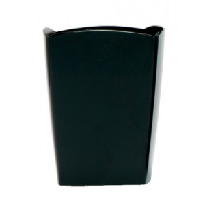 5 Star Pencil Pot W74xD74xH105mm Black