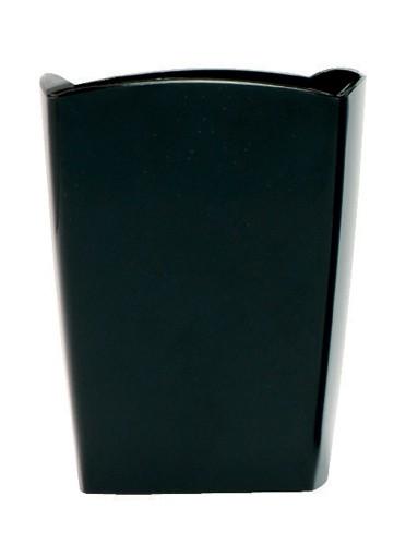 5 Star Pencil Pot W74xD74xH105mm Black