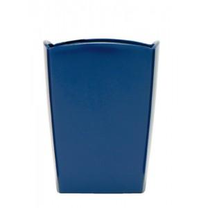 5 Star Pencil Pot W74xD74xH105mm Cobalt Blue