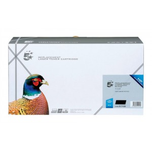 5 Star Compatible Laser Toner Cartridge Page Life 9000pp Black [HP No. 641A C9720A Alternative]