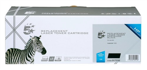 5 Star Compatible Laser Toner Cartridge Page Life 2500pp Black [HP No. 13A Q2613A Alternative]
