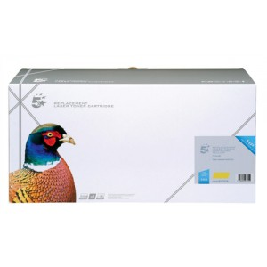 5 Star Compatible Laser Toner Cartridge Yellow HP C9732A Equivalent