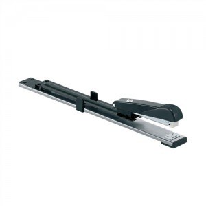 5 Star Stapler Long Arm Full Strip 320mm Reach Capacity 20 Sheets Black Ref 918656