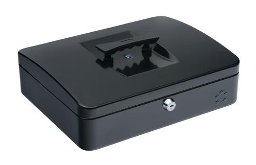 5 Star Cash Box 12 Inch W300xD240xH90mm Anthracite Black