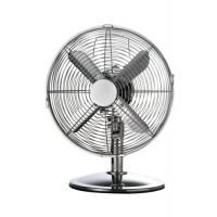 Image for 5 Star Facilities Desk Fan Oscillating 48.5Db 3 Speed 45 Watts H425mm Dia.305mm Chrome