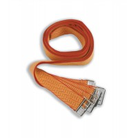 Image for Deed Straps with Buckle to Secure Bulky Documents 33x900mm Ref strapssp/red/y36 [Pack 6]