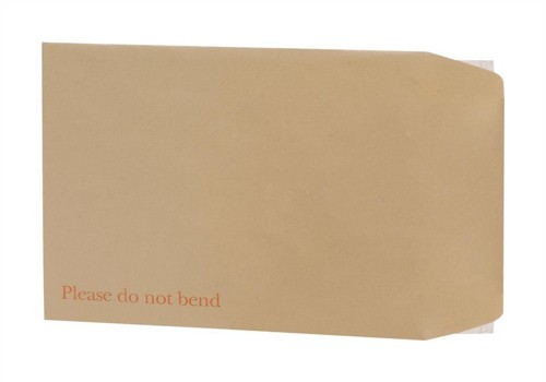 5 Star Envelopes Board-backed Peel and Seal 115gsm Manilla 240x165mm [Pack 125]