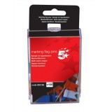 5 Star Marking Flags Assorted [Pack 100]