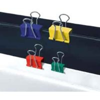 5 Star Foldback Clips 41mm Assorted [Pack 12]