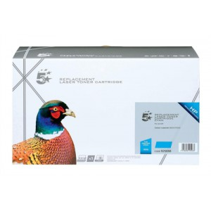 5 Star Compatible Laser Toner Cartridge Page Life 6000pp Cyan for HP Q7581A