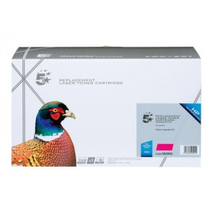 5 Star Compatible Laser Toner Cartridge Page Life 4000pp Magenta [HP No. 502A Q6473A Alternative]