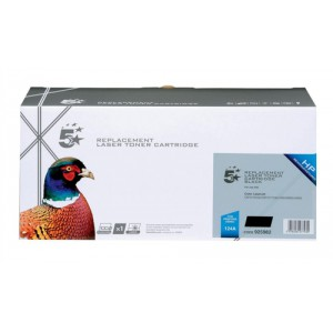 5 Star Compatible Laser Toner Cartridge Page Life 2500pp Black [HP No. 124A Q6000A Alternative]