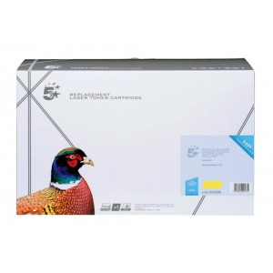 5 Star Compatible Laser Toner Cartridge Page Life 10000pp Yellow [HP No. 363A Q5952A Alternative]