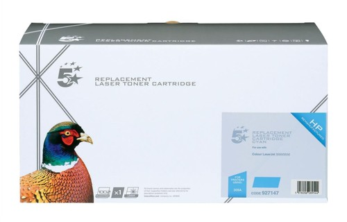 5 Star Compatible Laser Toner Cartridge Page Life 4000pp Cyan [HP No. 309A Q2671A Alternative]