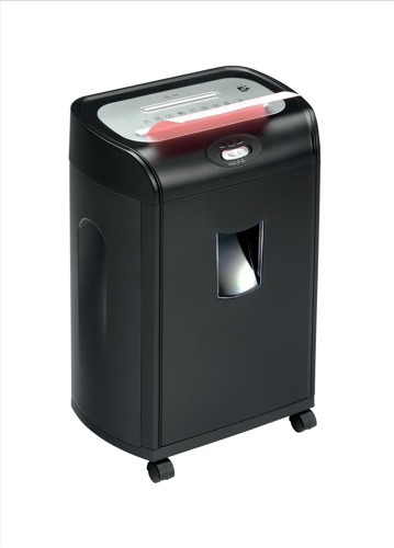 5 Star CC16 Shredder 4x40mm Cross Cut 19.3 Litre 16x80gsm 9kg W353xD245xH590mm