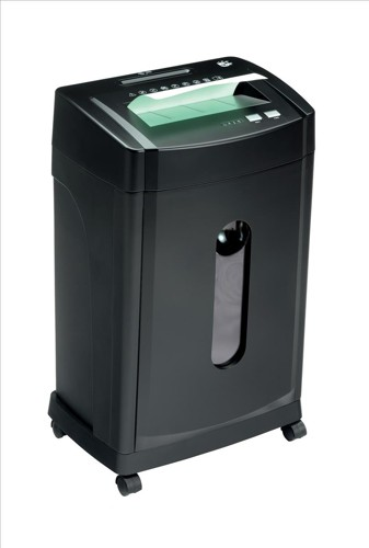 5 Star MCC12 Shredder Micro 2x9mm Cross Cut 32.7 Litre 12x80gsm 19.2kg W420xD305xH650mm