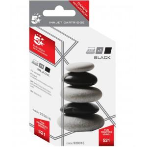 5 Star Inkjet Cartridge Black for Canon CLI521BK Code 111C052101