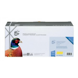 5 Star Compatible Laser Toner Cartridge Page Life 4000pp Yellow [Brother TN135Y Alternative]