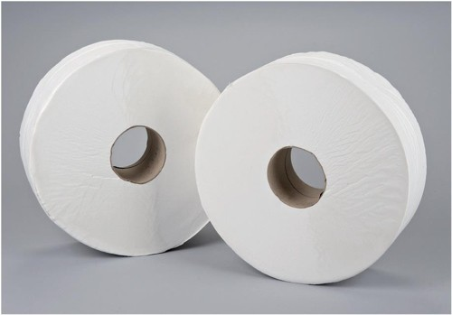 5 Star Jumbo Roll 2-ply 9x38cm 410m [Pack 6]