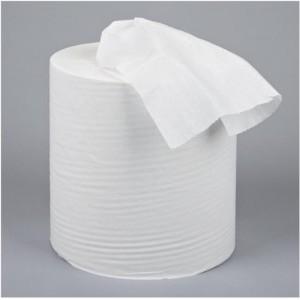 5 Star Centrefeed Tissue Refill for Dispenser White One-ply 120m [Pack 12]