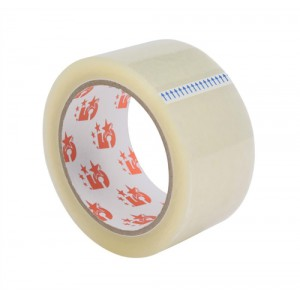 5 Star Packaging Tape Roll Polypropylene Low Noise 50mmx66m Clear [Pack 6]