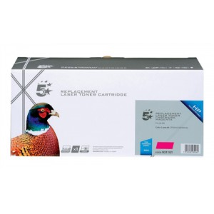5 Star Compatible Laser Toner Cartridge Page Life 2800pp Magenta [HP No. 304A CC533A Alternative]