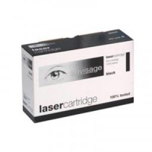 5 Star Compatible Laser Toner Cartridge Page Life 5000pp Black [HP No. 504A CE250A Alternative]