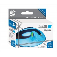 5 Star Compatible Inkjet Cartridge Capacity 3.5ml Cyan [Epson T1282 Alternative]