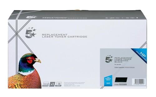 5 Star Compatible Laser Toner Cartridge Page Life 10500pp Black [HP No. 504X CE250X Alternative]