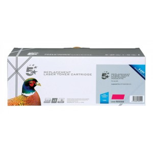 5 Star Compatible Laser Toner Cartridge Page Life 1300pp Magenta HP No. 128A CE323A Equivalent